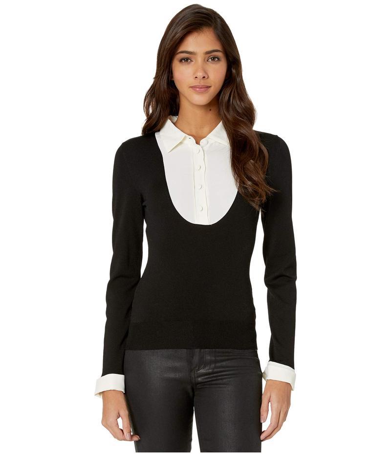 ブティックモスキーノ レディース ニット・セーター アウター Viscose Sweater Black Multi