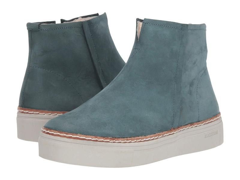 ブラックストーン レディース スニーカー シューズ Shearling Lined Sneaker Boot - OL27 Mallard Blue