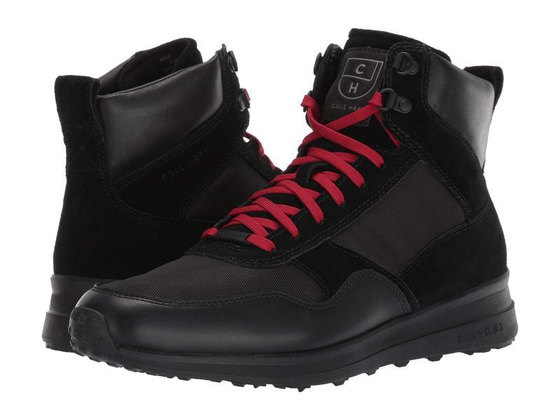 コールハーン メンズ スニーカー シューズ Grandpro Hiker WR Black Water Resistant