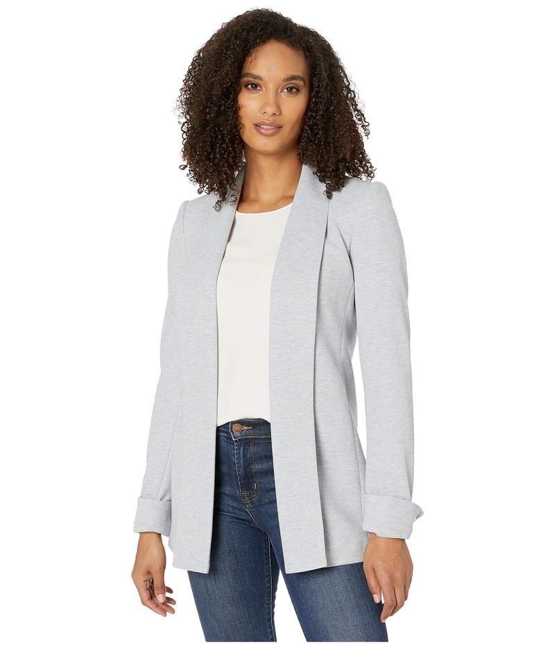 カルバンクライン レディース ニット・セーター アウター Soft Suiting Open Jacket Tin