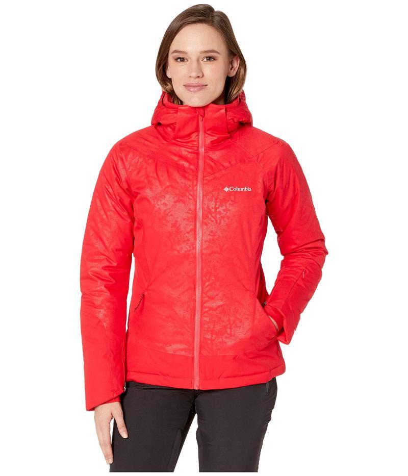 コロンビア レディース コート アウター Veloca Vixen Jacket Red Lily/Slopes Emboss