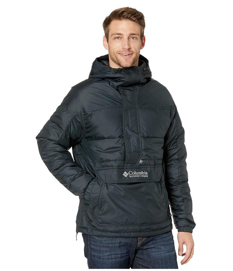 コロンビア メンズ コート アウター Columbia Lodge¢ Pullover Jacket Black/Columbia Grey