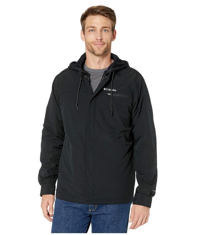 コロンビア メンズ コート アウター Tech Trail¢ Shirt Jacket Interchange Black
