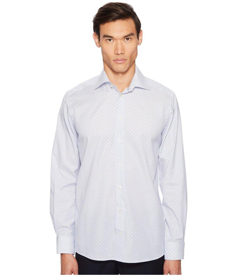 エトン メンズ シャツ トップス Contemporary Fit Textured Stripe Shirt Multi