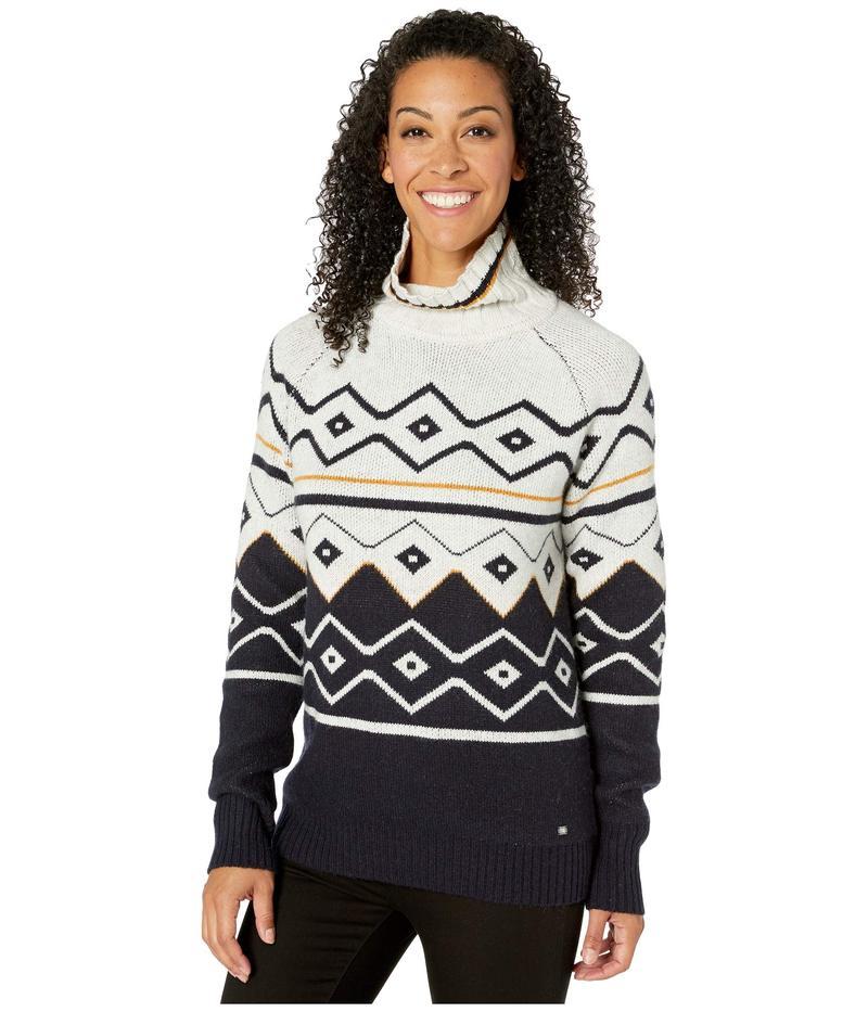 フィグ レディース ニット・セーター アウター Oxo Sweater Folklore Toffee