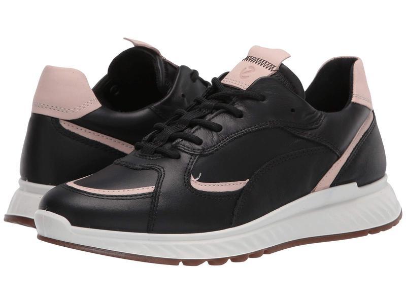 エコー レディース スニーカー シューズ ST.1 Sneaker Black/Rose Dust