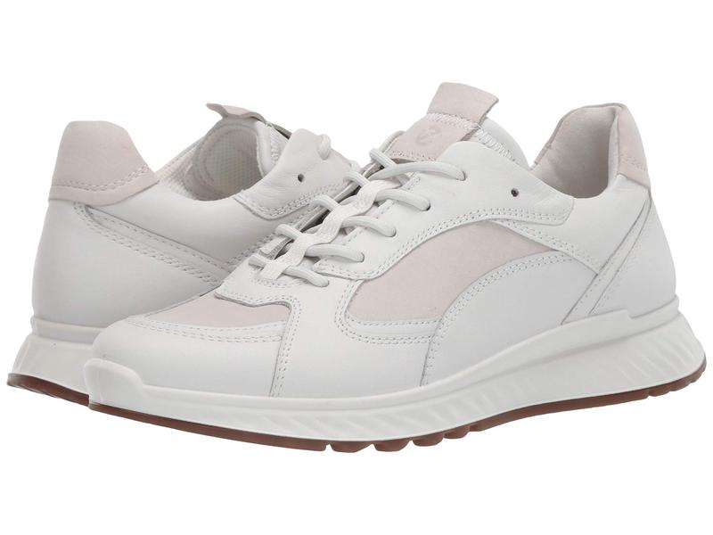 エコー レディース スニーカー シューズ ST.1 Sneaker White/Ice White
