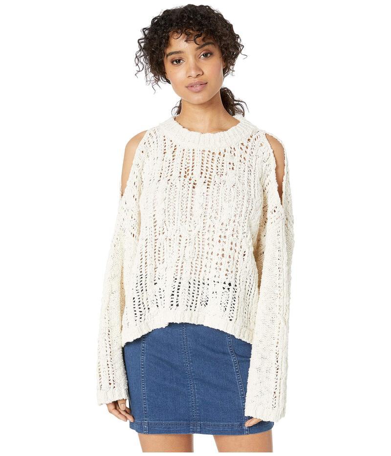フリーピープル レディース ニット・セーター アウター Cold Ocean Sweater Ivory