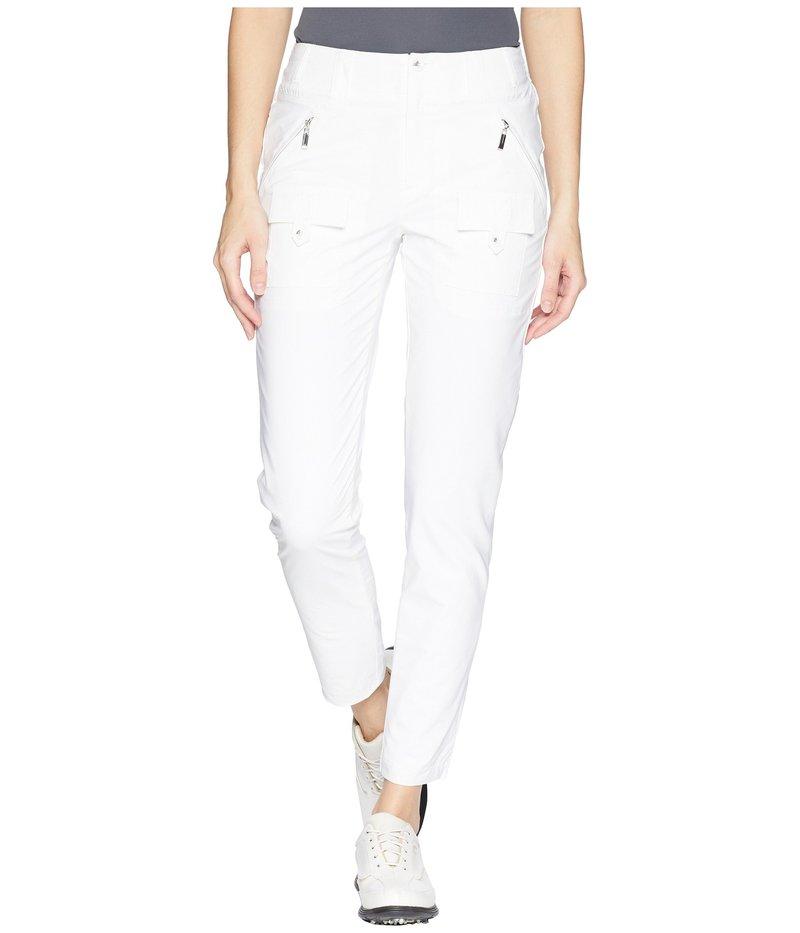 ジャイミーサドック レディース カジュアルパンツ ボトムス Airwear Lightweight Ankle Pants Sugar White