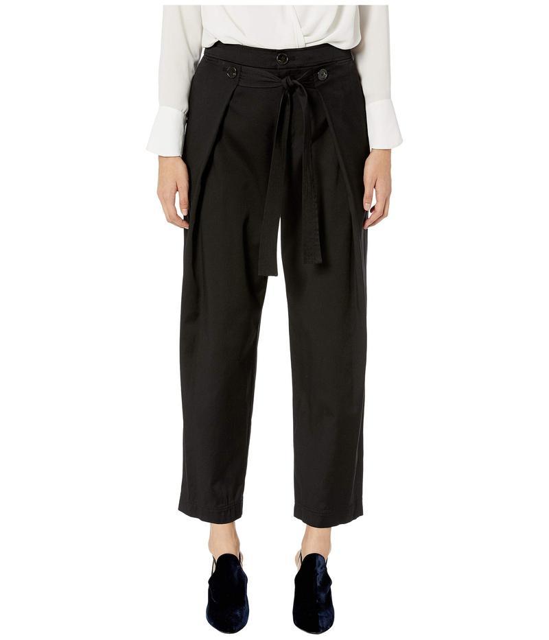 ジェイソンウー レディース カジュアルパンツ ボトムス Cotton Twill Pants Black