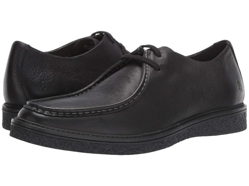 ハッシュパピー メンズ オックスフォード シューズ Jaden Oxford Black Leather