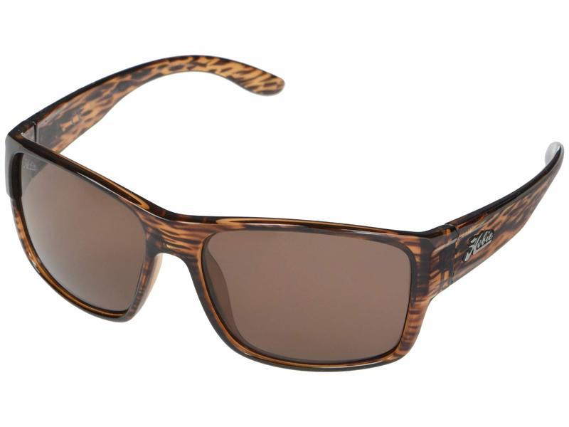 ホビー メンズ サングラス・アイウェア アクセサリー Polarized Big Sur Shiny Brown Wood Grain Frame/Copper Polarized PC Lens
