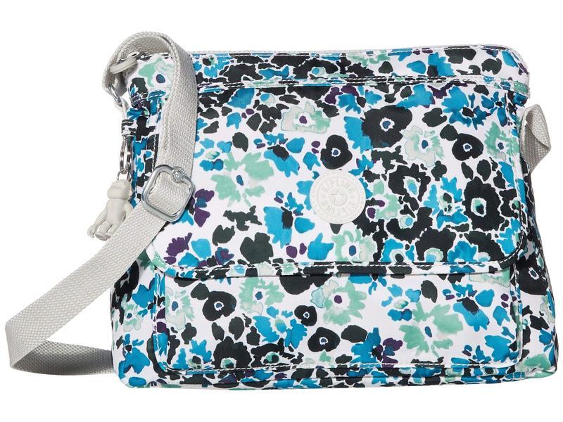 キプリング レディース ハンドバッグ バッグ Aisling Crossbody Bag Blue Field Floral