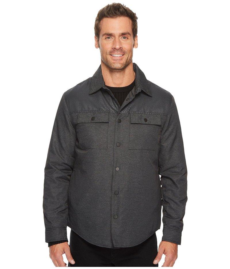 ケネスコール メンズ コート アウター Two-Pocket Pieced Shirt Jacket Dim Grey Combo