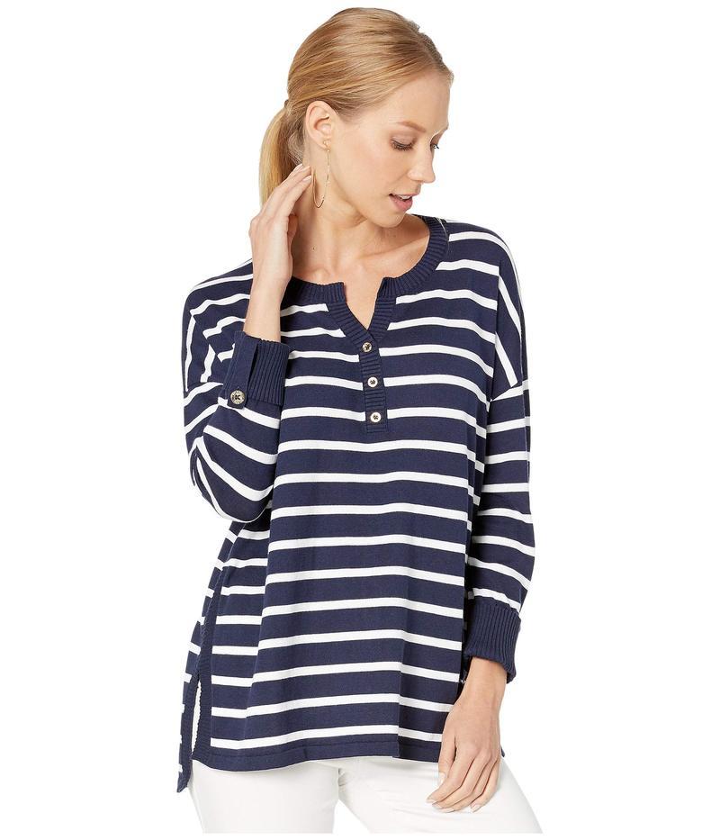 リリーピュリッツァー レディース ニット・セーター アウター Faraway Sweater True Navy Moonlight Stripe