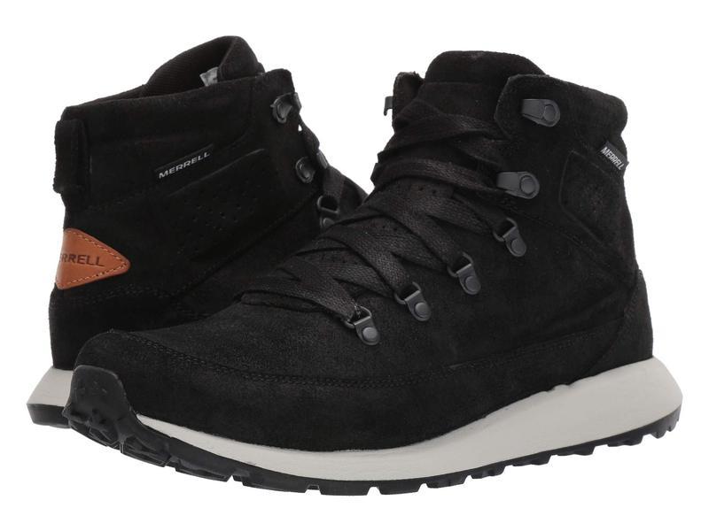 メレル メンズ ブーツ・レインブーツ シューズ Ashford Classic Chukka Leather Black