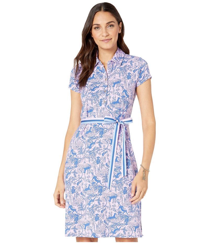 リリーピュリッツァー レディース ワンピース トップス Renee Dress Lilac Freesia Safari As I Can See