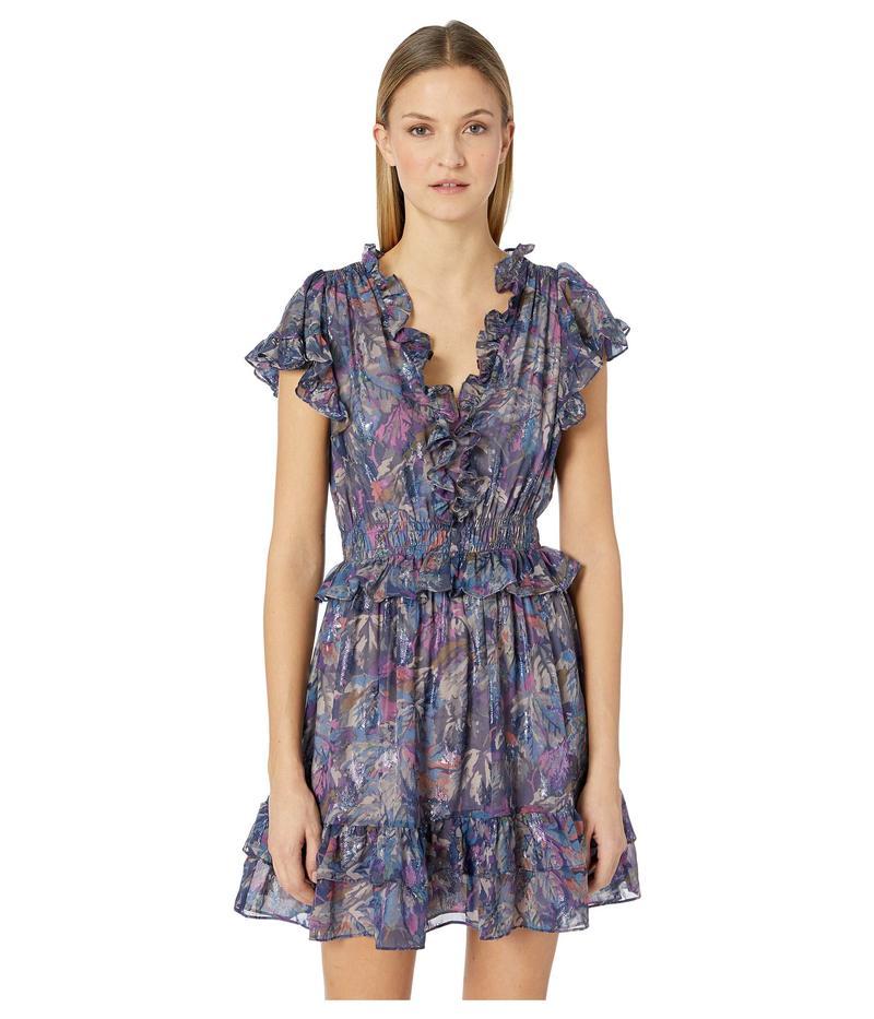 レベッカテイラー レディース ワンピース トップス Sleeveless Giverney Fleur Dress Amethyst Combo