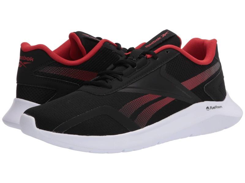 リーボック メンズ スニーカー シューズ Energylux 2.0 Black/Legacy Red/White