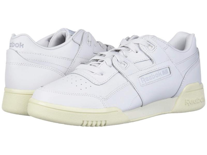 リーボック レディース スニーカー シューズ Workout Lo Plus Porcelain/Paper White/Grey