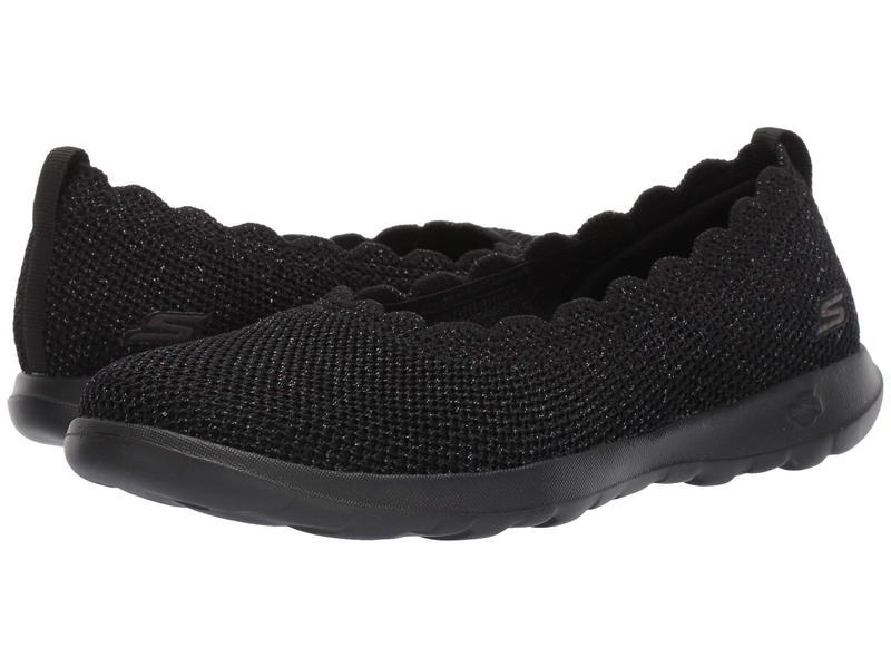 スケッチャーズ レディース スニーカー シューズ Go Walk Lite - 16391 Black