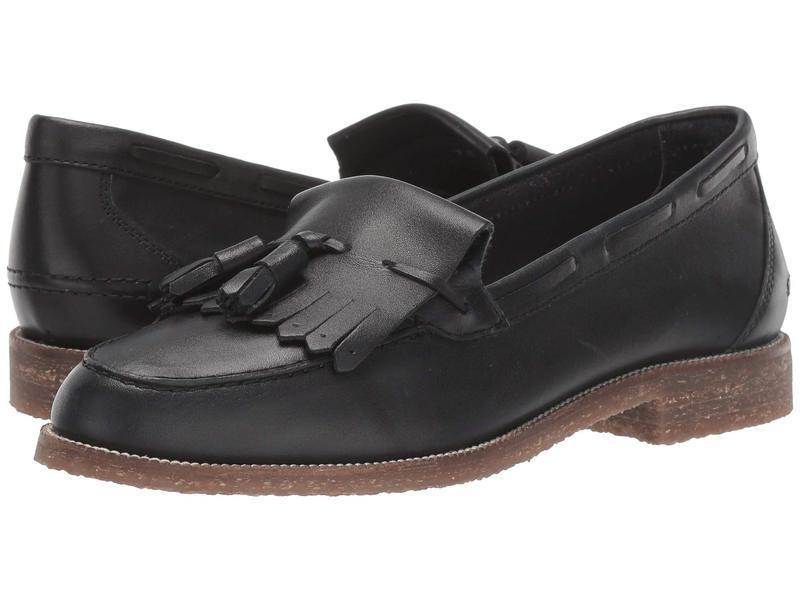 セイシェルズ レディース スリッポン・ローファー シューズ Cloak Black Leather