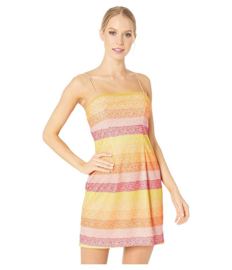 ウミーユアムーム レディース ワンピース トップス Clarissa Dress Fiesta Sunset Stripe