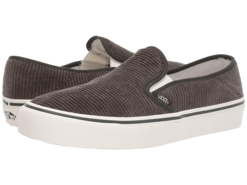バンズ メンズ スニーカー シューズ Slip-On SF (Corduroy) Forest Night/Marshmallow