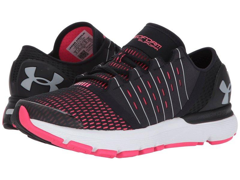 アンダーアーマー レディース スニーカー シューズ UA Speedform Europa Black/Penta Pink/MSV