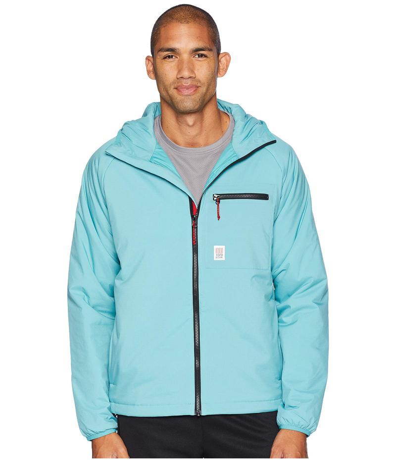 トポ・デザイン メンズ コート アウター Puffer Hoodie Glacier