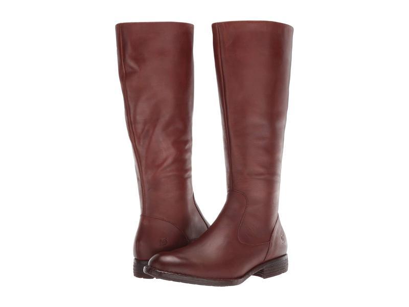 ボーン レディース ブーツ・レインブーツ シューズ North Brown Full Grain Leather