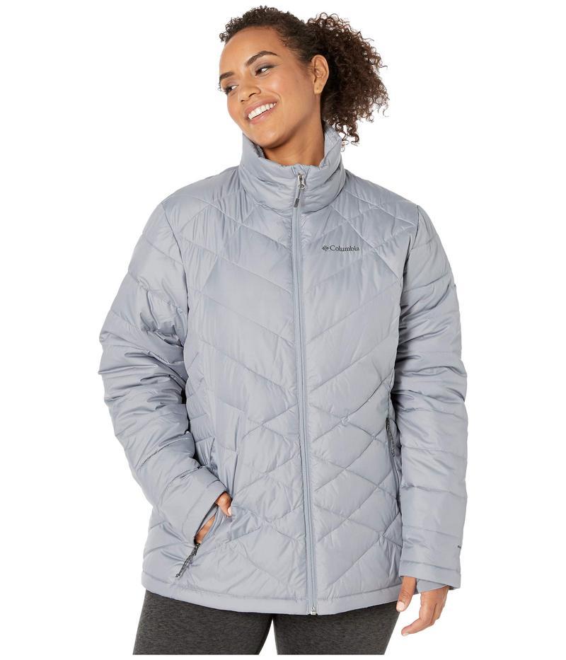 コロンビア レディース コート アウター Plus Size Heavenly¢ Jacket Tradewinds Grey