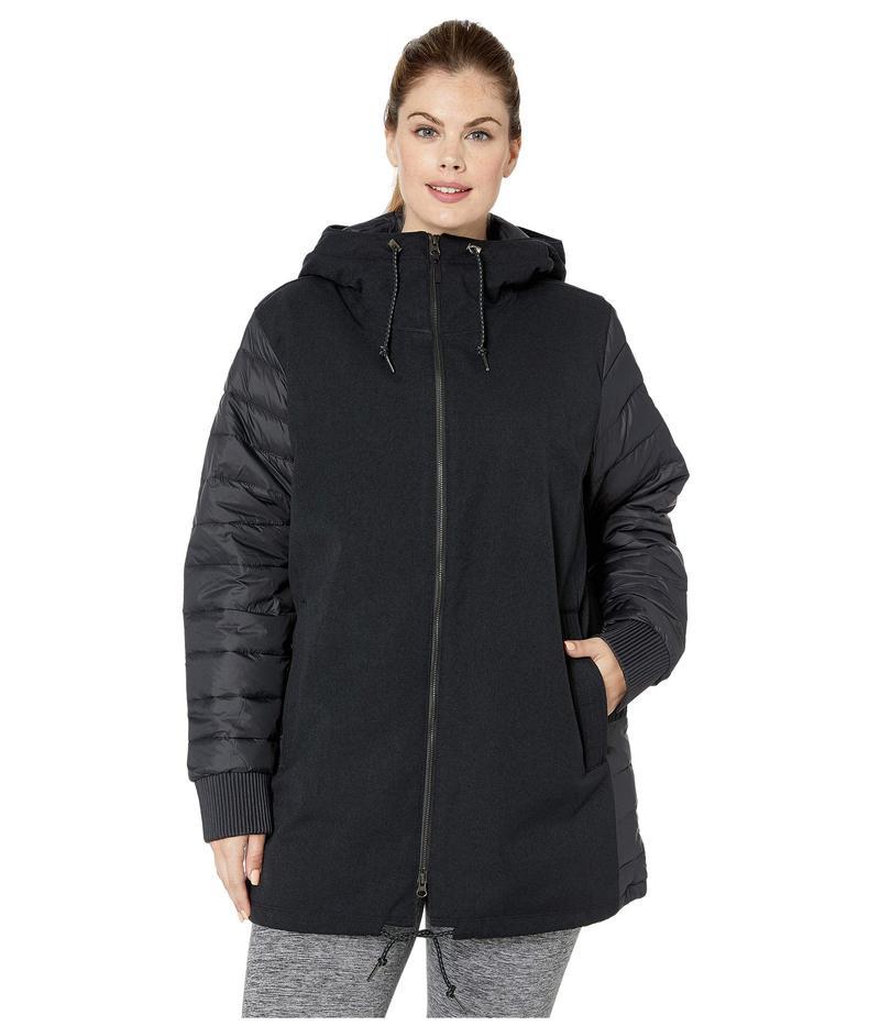 コロンビア レディース コート アウター Plus Size Boundary Bay¢ Hybrid Jacket Black