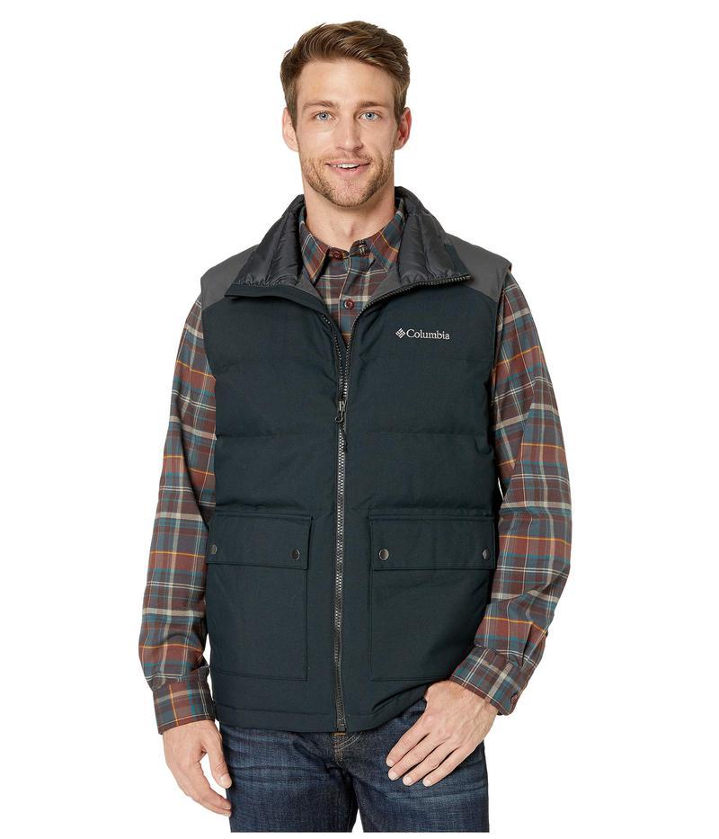 コロンビア メンズ コート アウター Winter Challenger¢ Vest Black/Shark