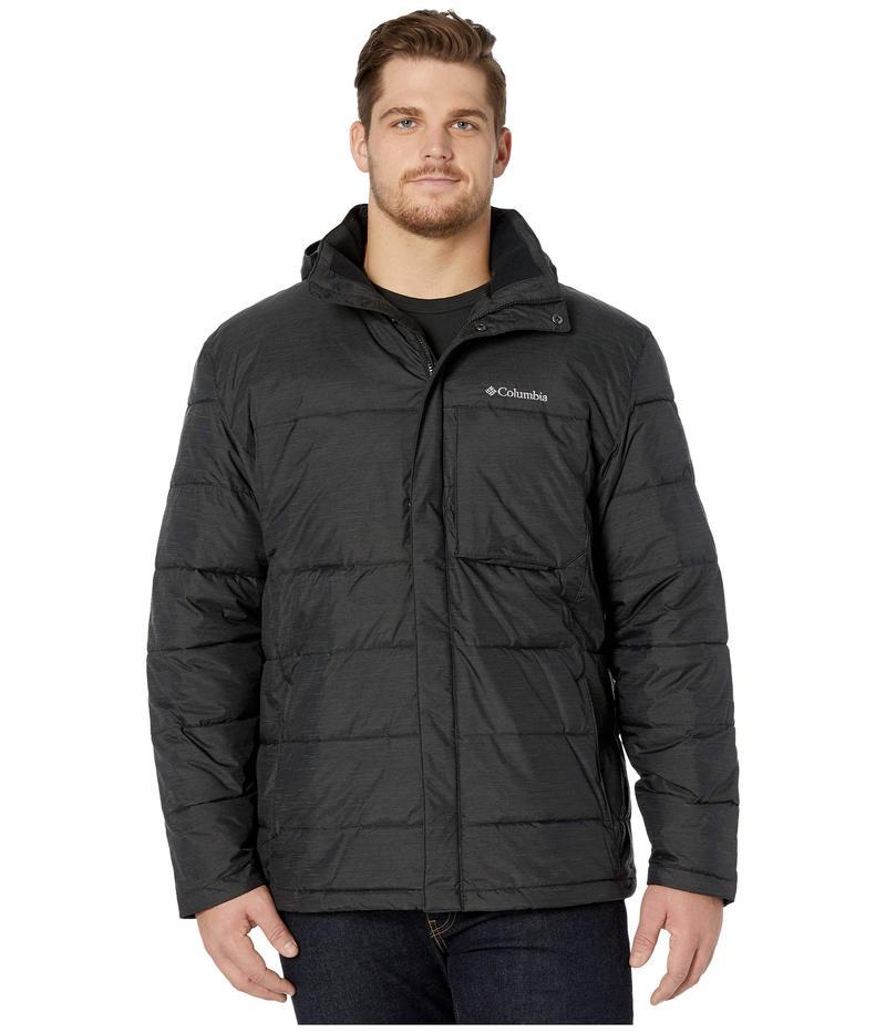 コロンビア メンズ コート アウター Big & Tall Ridgeview Peak¢ Hooded Jacket Black