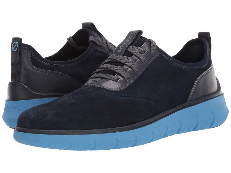 コールハーン メンズ スニーカー シューズ Generation Zerogrand Sneaker Blue Suede