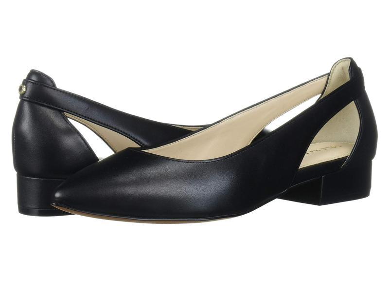 コールハーン レディース サンダル シューズ Marcey Skimmer Black Leather