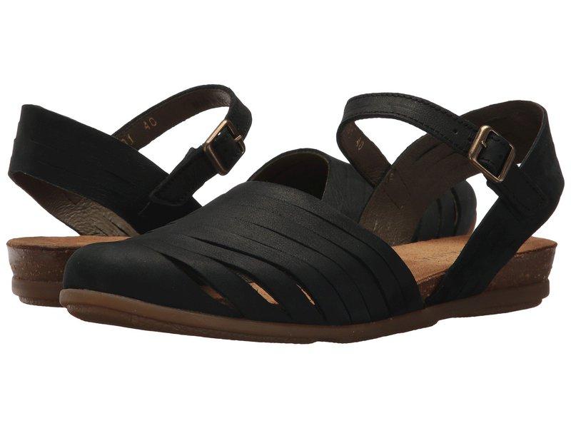 エルナチュラリスタ レディース サンダル シューズ Stella N5201 Black
