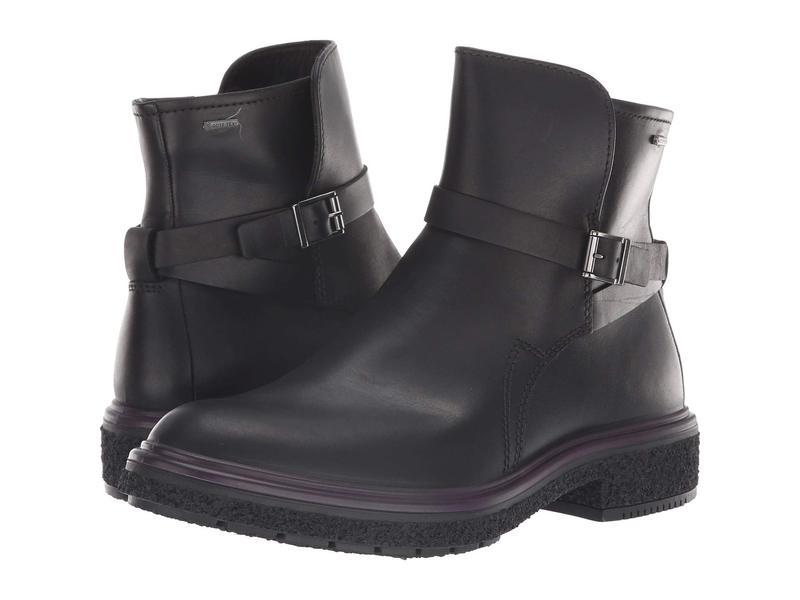 エコー レディース ブーツ・レインブーツ シューズ Crepetray GORE-TEX Boot Black Cow Leather