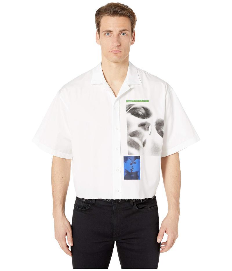 ディースクエアード メンズ シャツ トップス Mert & Marcus Poplin Button Up Shirt White