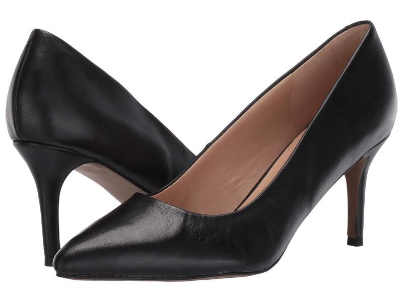 フランコサルト レディース ヒール シューズ Bellini Black Leather