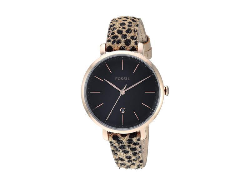 フォッシル レディース 腕時計 アクセサリー Jacqueline - ES4681 Gold/Cheetah