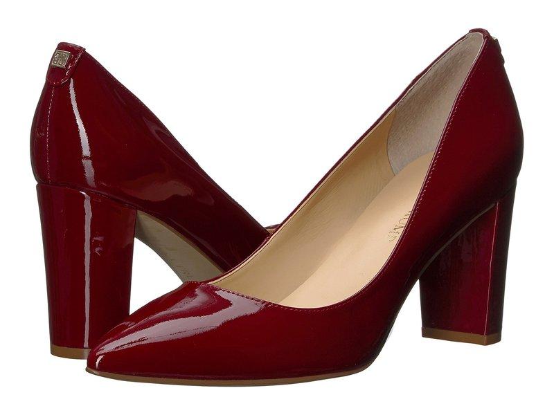 イヴァンカ・トランプ レディース ヒール シューズ Lysa Dark Red Patent Leather