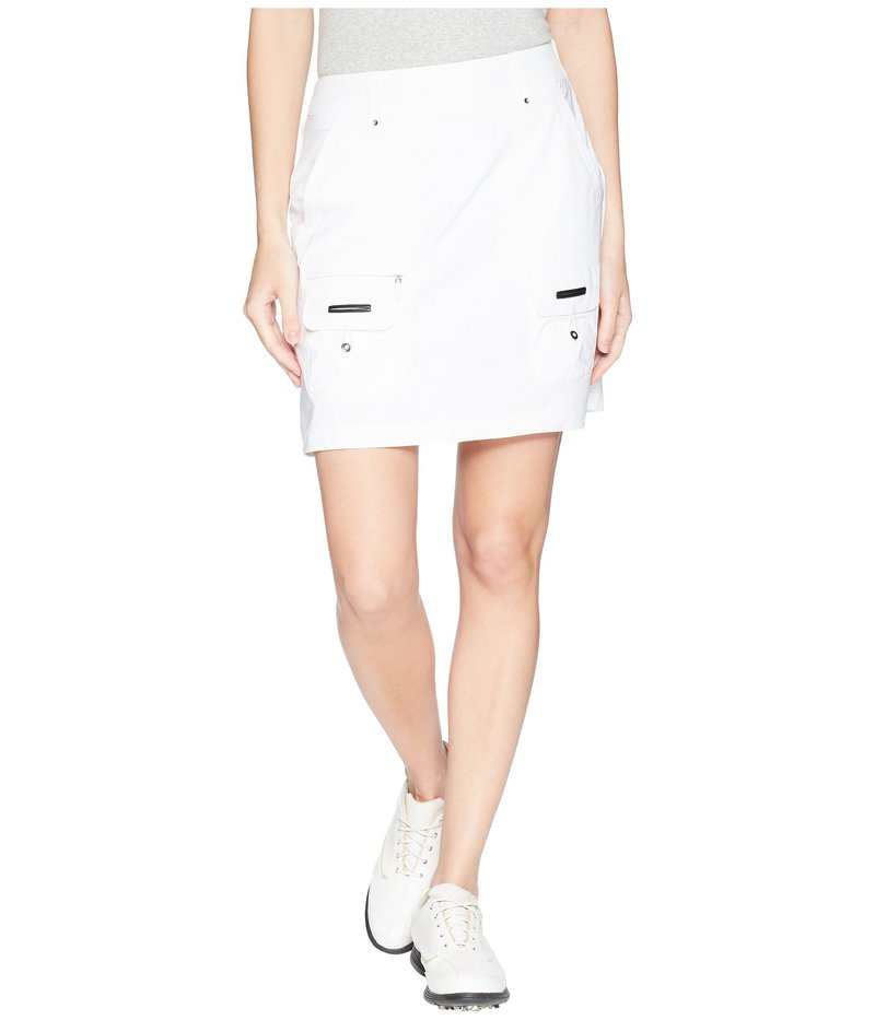 ジャイミーサドック レディース スカート ボトムス Airwear Lightweight Skort Sugar White