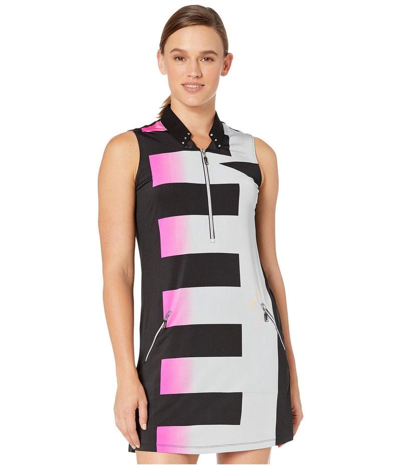 ジャイミーサドック レディース ワンピース トップス Luminous Print Sleeveless Dress with Shorties Jet