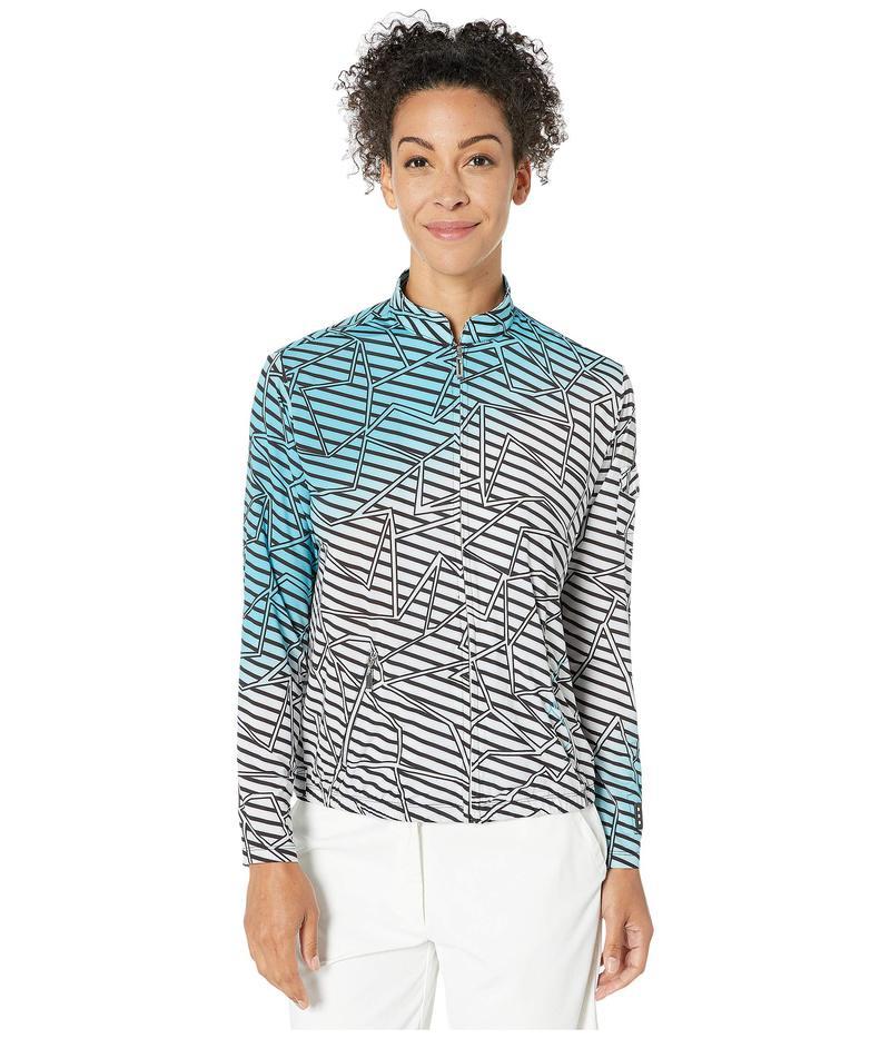 ジャイミーサドック レディース コート アウター Sunsense 50 UVP Puzzle Print Full Zip Jacket Infinity