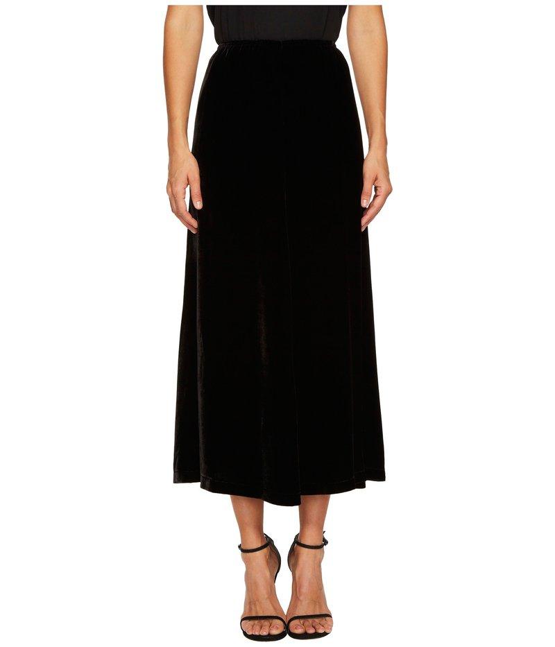 アレキサンダー・マックイーン レディース スカート ボトムス Velvet Fluid Gather Skirt Black