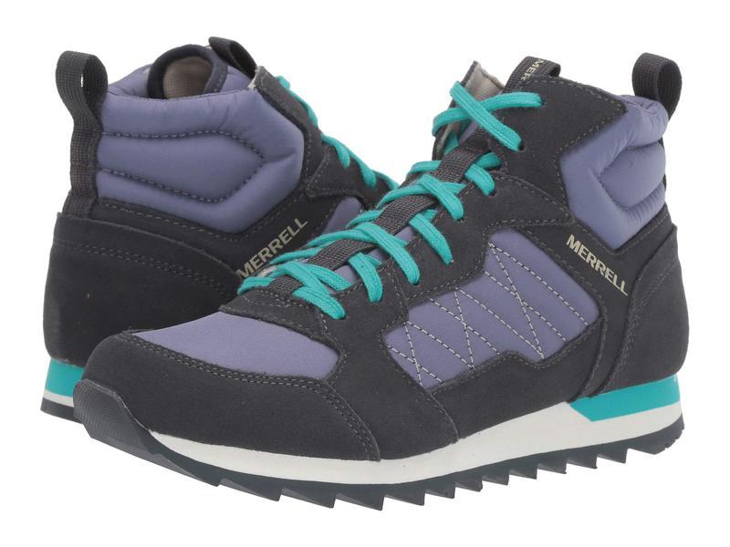 メレル レディース スニーカー シューズ Alpine Sneaker Mid Velvet/Ebony