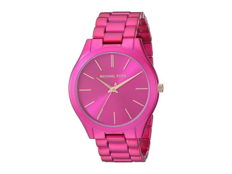 マイケルコース レディース 腕時計 アクセサリー MK4414 - Slim Runway Pink