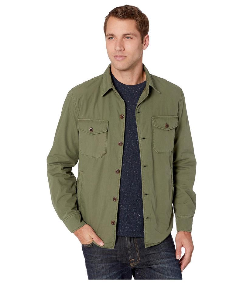 ラッキーブランド メンズ コート アウター Cozy Lined Jacket Bronze Green
